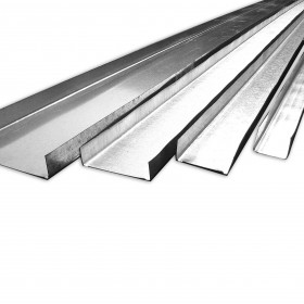 Canales de amarres estructural para tablaroca en acero galvanizado en Monterrey