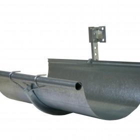 Canaleta pluvial de acero galvanizado de acanalado ondulado/circular en Monterrey