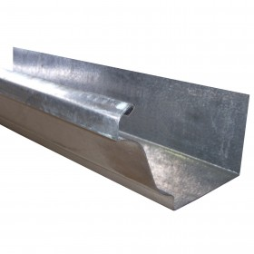 Canaleta pluvial de acero galvanizado de acanalado retangular en Monterrey