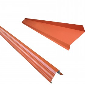 Accesorios para galvateja de acero galvanizado y pintro, canalon paloma y tapa union en Monterrey