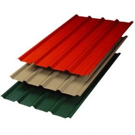 Lámina galvateja en galvanizado o pintro para construcción de techo o fachadas en Monterrey
