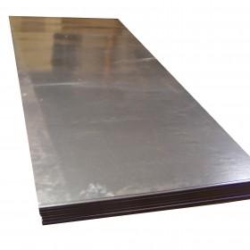 Pila de laminas de acero galvanizado con corte a medida en Monterrey