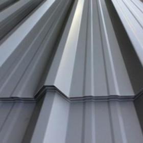 Lámina de acero galvanizado con perfil rectangular en color blanco para construcción en Monterrey