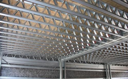 Maquila de lamina vigas joist estructuras metalicas y for Losa techo