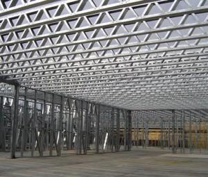 Montado y armado de vigas de acero tipo joist con galvanizado en Monterrey