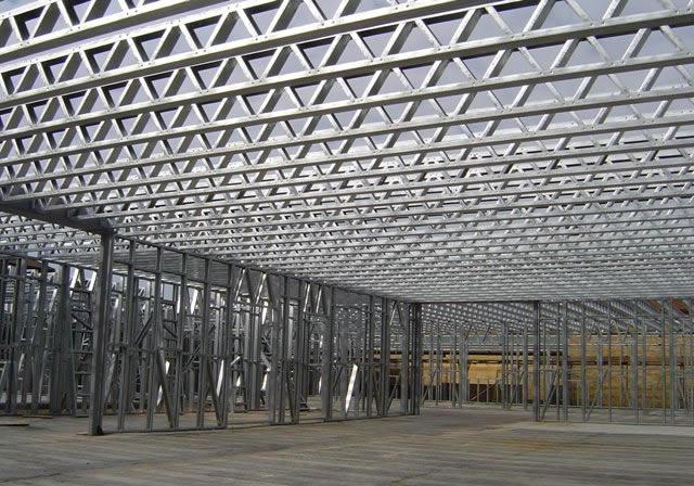 Maquila de lamina vigas joist estructuras metalicas y - Tipos de vigas de acero ...