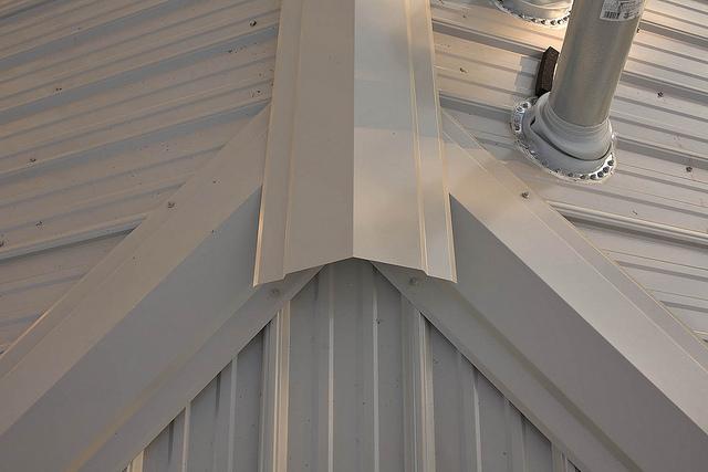 caballetes para techos de lámina