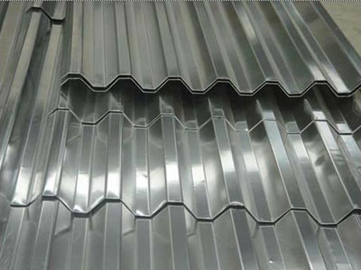 lámina acanalada para techos