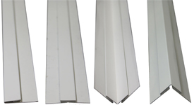 molduras de lámina para techos