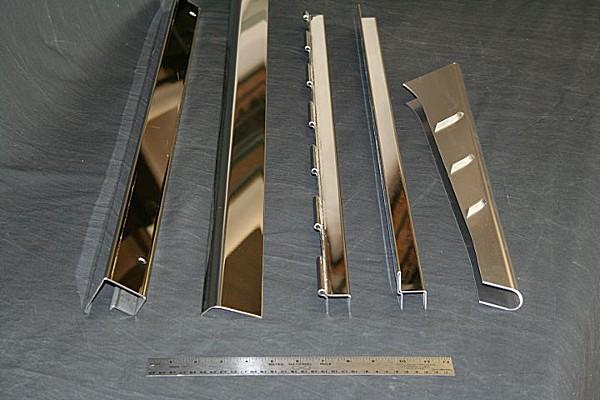 molduras de lámina para cubrir traslapes