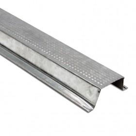 Canal listón para tablaroca en acero galvanizado en Monterrey
