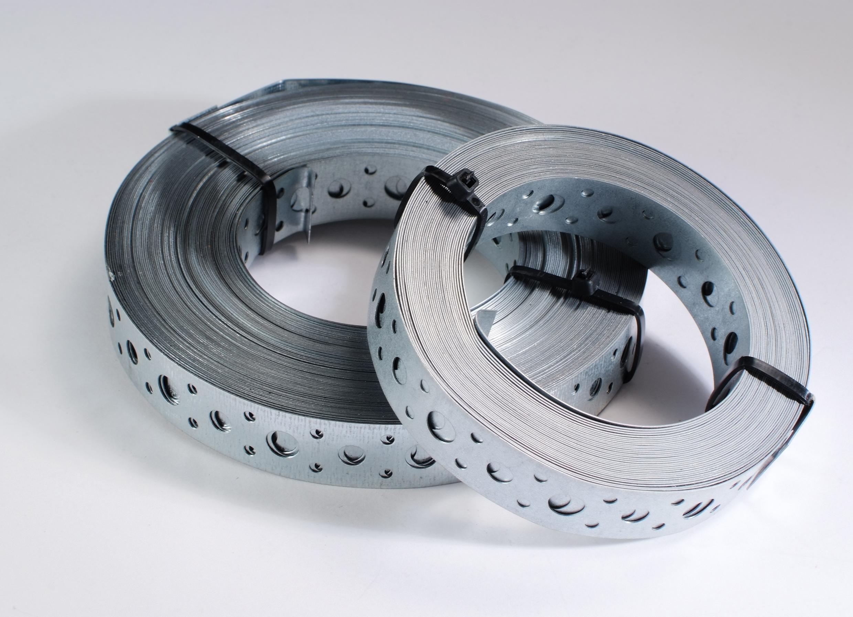 Cinta galvanizada de acero para monta o embalaje en Monterrey