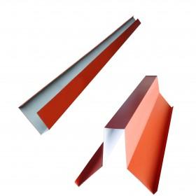 Accesorios para galvateja de acero galvanizado y pintro, bajo cumbrera y canal lateral en Monterrey