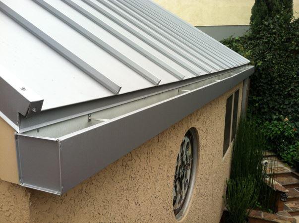 canaletas pluviales para techos de chapa