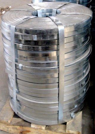 cinta galvanizada para tubería